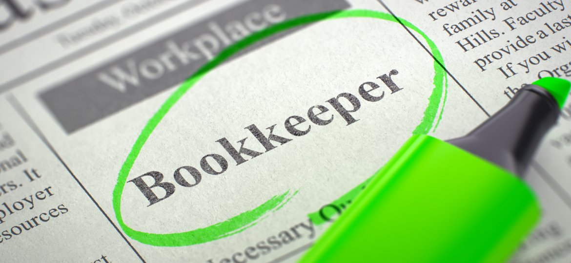 We're Hiring Bookkeeper. 3d.